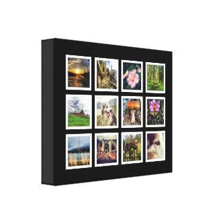 Collage moderne d'art de photo d'Instagram Toiles