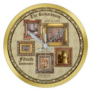 Collage van de Lijsten van het Jubileum van de Grote Klok