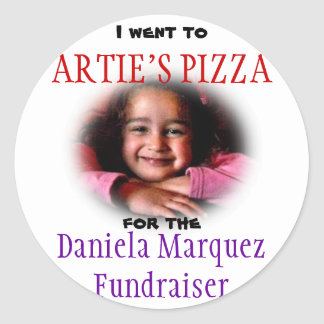 Collecteur de fonds de Daniela Sticker Rond
