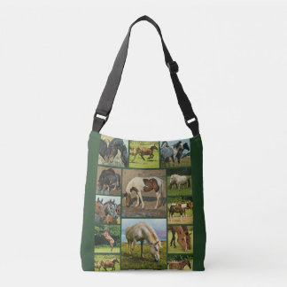 Collection de chevaux sauvages sac ajustable