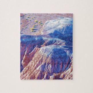 """Collection """"de collines inclinées par bleu"""" puzzle"""