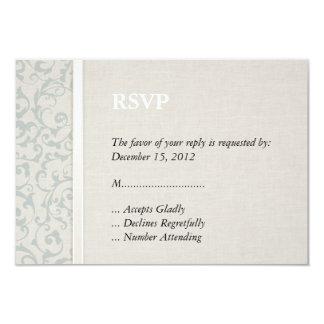 Collection de mariage de SmartElegance SeaSpray Carton D'invitation 8,89 Cm X 12,70 Cm