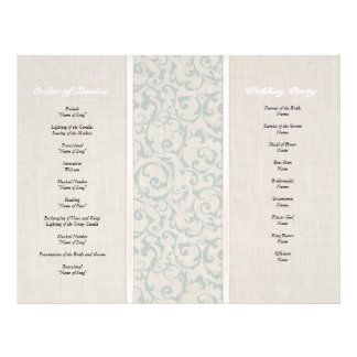 Collection de mariage de SmartElegance SeaSpray Prospectus 21,6 Cm X 24,94 Cm