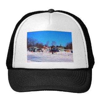 Collection de pêche de glace casquettes de camionneur