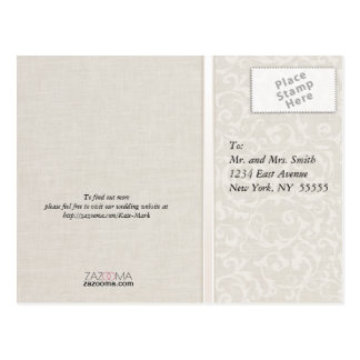 Collection naturelle de mariage de SmartElegance Carte Postale