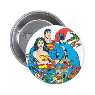 Collection superbe 1 de Powers™ Badge Rond 5 Cm
