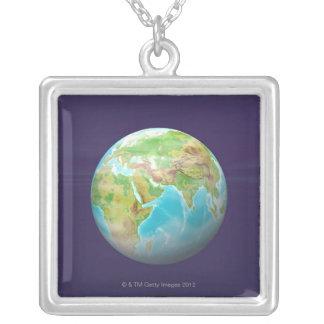 Collier 3D globe 11