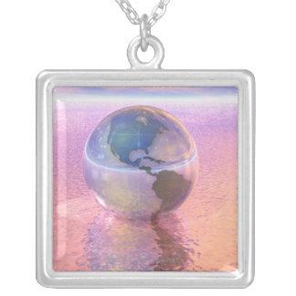 Collier 3D globe 12