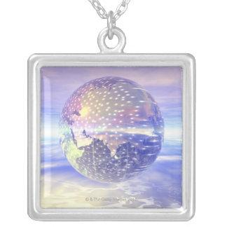 Collier 3D globe 13