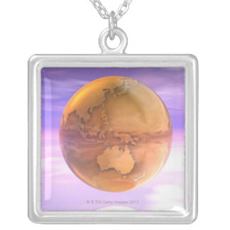 Collier 3D globe 14