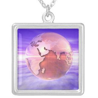 Collier 3D globe 17