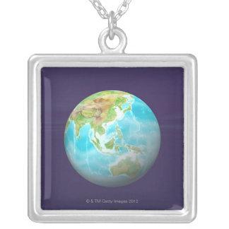 Collier 3D globe 6