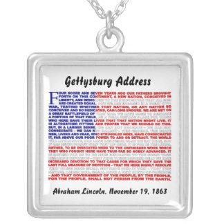 Collier Adresse de Gettysburg