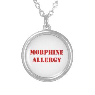 COLLIER ALLERGIE DE MORPHINE
