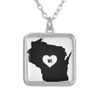 Collier Amour du Wisconsin