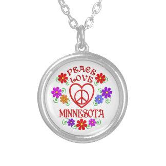 Collier Amour Minnesota de paix