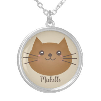 Collier Amoureux des chats Girly mignon de Kawaii Kitty