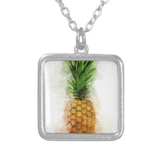 Collier Ananas Aquarelle