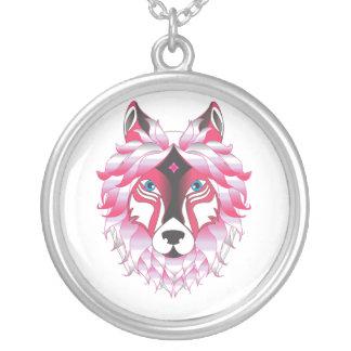 Collier Animal de loup d'imaginaire