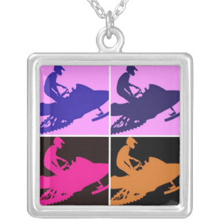 Collier Art de bruit Snowmobiling
