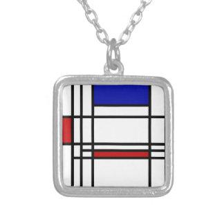Collier Art moderne de Mondrian