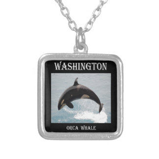 Collier Baleine d'orque de Washington