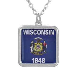 Collier Bandeira De le Wisconsin