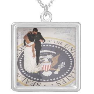 Collier Barack et Michelle Obama
