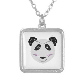 Collier Blackgrey mignon de petit panda