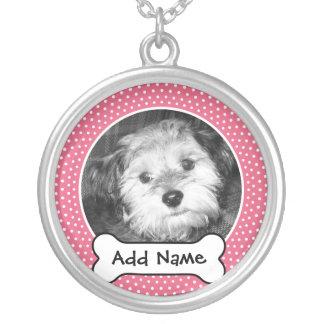 Collier Cadre de modèle photo de chien