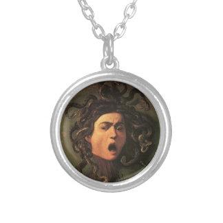 Collier Caravaggio - méduse - illustration italienne