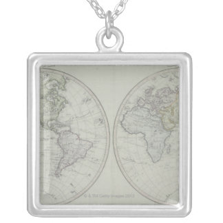 Collier Carte 15 du monde