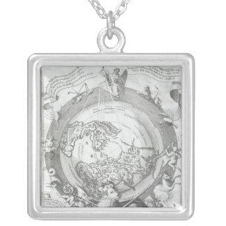 Collier Carte 2 du monde