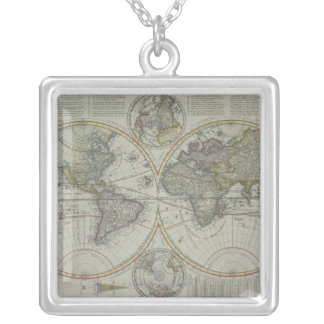 Collier Carte 8 du monde