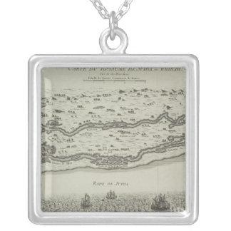 Collier Carte antique de golfe Persique