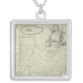 Collier Carte antique de la Chine