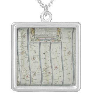 Collier Carte de route antique