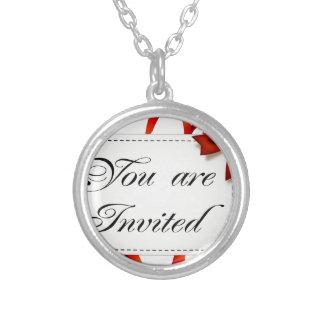 Collier Carte d'invitation >> vous êtes invités
