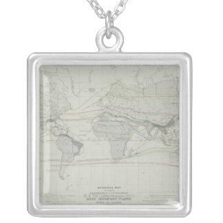 Collier Carte du monde 13