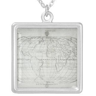 Collier Carte du monde 17