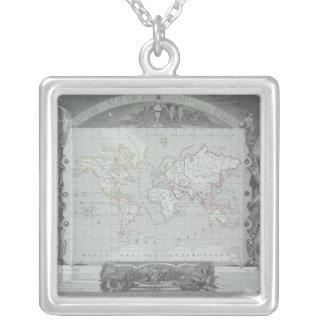 Collier Carte du monde 2