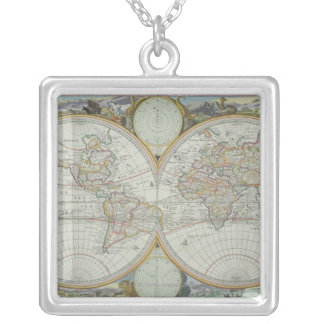 Collier Carte du monde 21