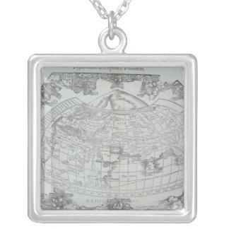 Collier Carte du monde 4