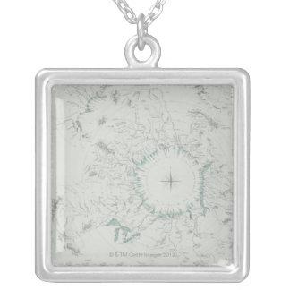 Collier Carte du Pôle Nord