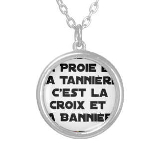 Collier Chasse : La Proie et la Tannière, c'est la Croix