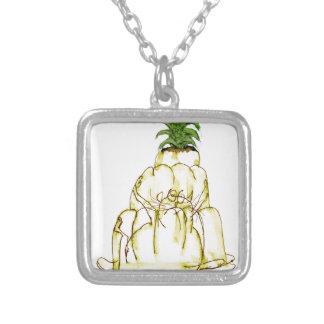Collier chat élégant de jello de l'ananas des fernandes