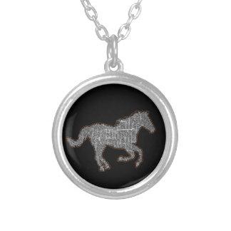 Collier cheval noir