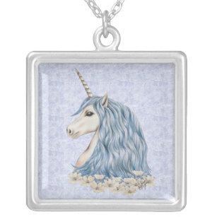 Collier Cheveux de bleu de licorne