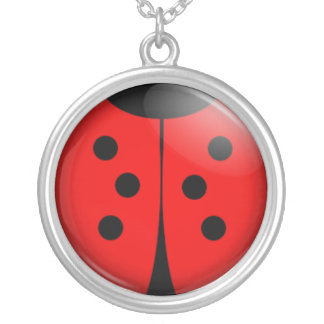 Collier coccinelle chanceuse
