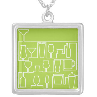 Collier Cocktail de vert de chaux